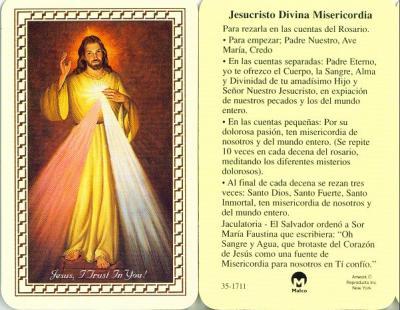FIESTA DE LA DIVINA MISERICORDIA