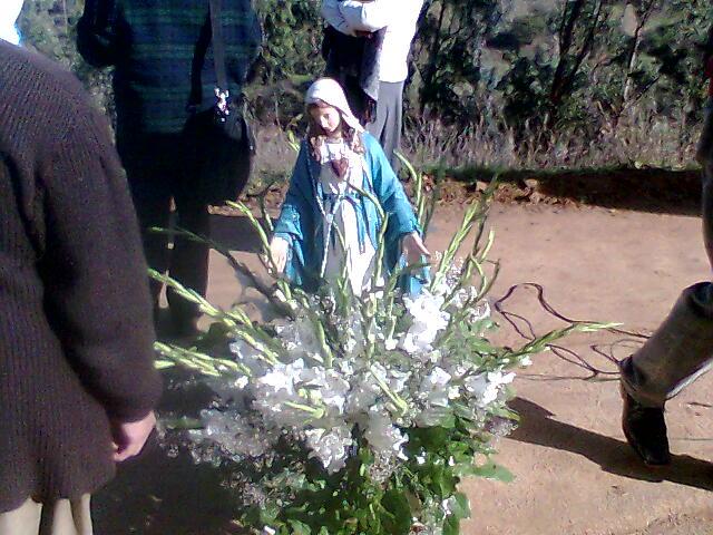 EL DIA 12 de JUNIO  LA PROCESIÓN DE LA VIRGEN